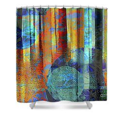 Phasing Through Shower Curtain by Robert Ball