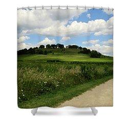 Pheasant Branch Hill Shower Curtain