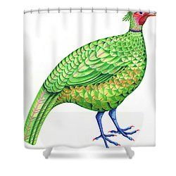Pheasant Shower Curtain by Jane Tattersfield