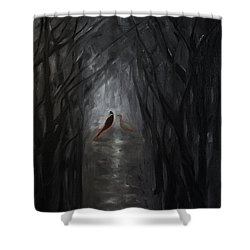 Pheasants In The Garden Shower Curtain