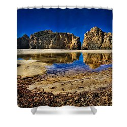 Shower Curtain featuring the photograph Pheiffer Beach #15 - Big Sur, Ca by Jennifer Rondinelli Reilly - Fine Art Photography