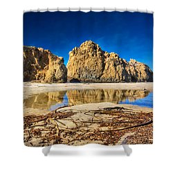 Shower Curtain featuring the photograph Pheiffer Beach - Keyhole Rock #16 - Big Sur, Ca by Jennifer Rondinelli Reilly - Fine Art Photography