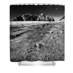 Shower Curtain featuring the photograph Pheiffer Beach -keyhole Rock #17 Big Sur, Ca by Jennifer Rondinelli Reilly - Fine Art Photography