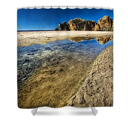 Shower Curtain featuring the photograph Pheiffer Beach- Keyhole Rock #19 - Big Sur, Ca by Jennifer Rondinelli Reilly - Fine Art Photography
