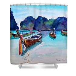 Phi Phi Island Shower Curtain