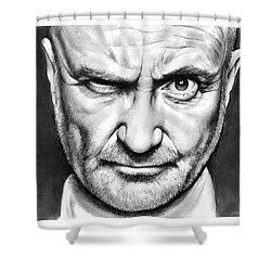 Phil Collins Shower Curtain