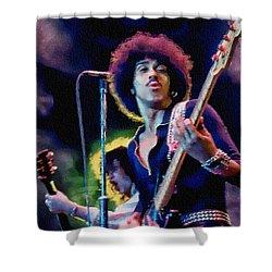 Phil Lynott - Thin Lizzy Shower Curtain