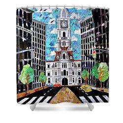 Philadelphia Shower Curtain by Blair Barbour
