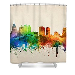 Philadelphia Pennsylvania Skyline 05 Shower Curtain