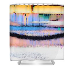 Philadelphia Scene2 Shower Curtain