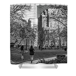 Shower Curtain featuring the photograph Philadelphia Street Photography - 0902 by David Sutton