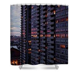 Philadelphia Sunset Shower Curtain