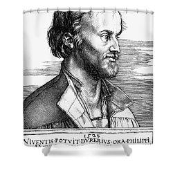 Philipp Melanchthon Shower Curtain by Granger