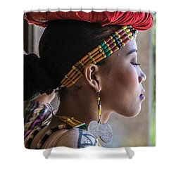 Philippine Dancer Shower Curtain