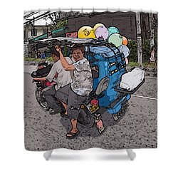 Philippines 2762 Party Supplies Shower Curtain