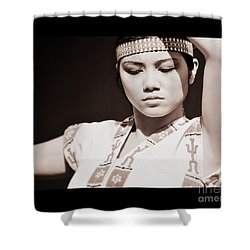 Philippino Dancer Shower Curtain