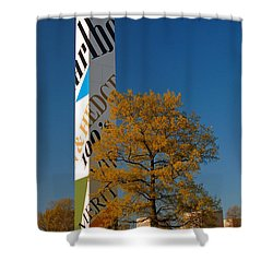 Phillip Morris Shower Curtain