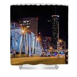 Phillips Arena Shower Curtain