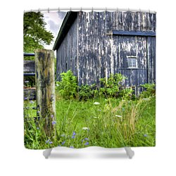 Phillip's Barn #3 Shower Curtain