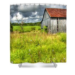 Phillip's Barn Shower Curtain