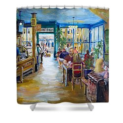 Philz Coffee San Francisco Shower Curtain by Jack Skinner