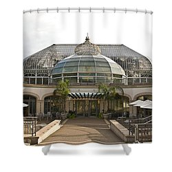 Phipps - Cit2 Shower Curtain by G L Sarti