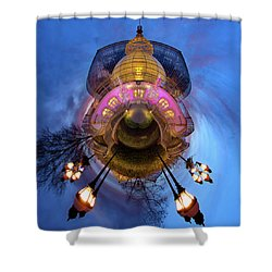 Phipps Conservatory Little Planet  Shower Curtain