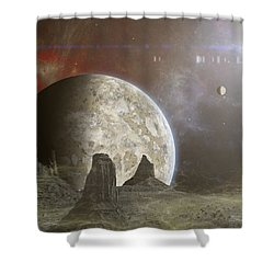 Phobos Shower Curtain