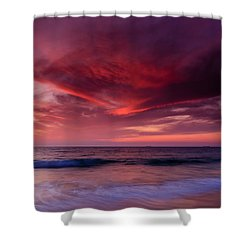 Phoenix Flying Shower Curtain
