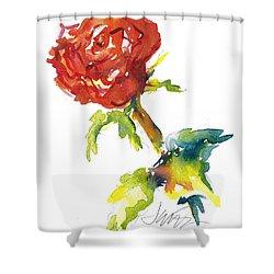 The Phoenix Rose Shower Curtain