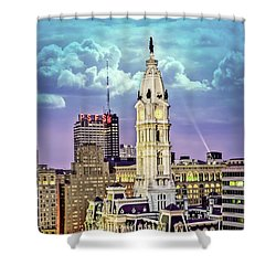 Phoenix View Shower Curtain