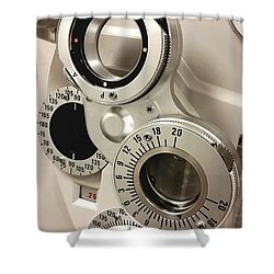 Phoropter Shower Curtain