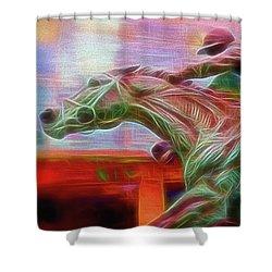 Photo Finish Shower Curtain