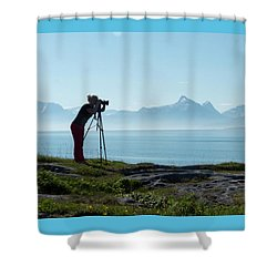 Photograph In Norway Shower Curtain