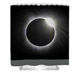 Grandfather Mountain Sunrise Shower Curtain