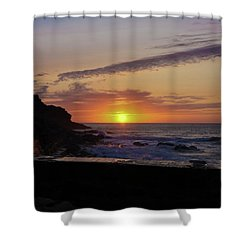 Photographer's Sunset Shower Curtain by Terri Waters