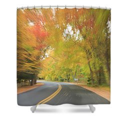 Photographic Impressionism  Shower Curtain