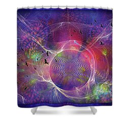 Photon-rings Shower Curtain