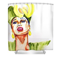 Phyllis Shower Curtain by Howard Barry