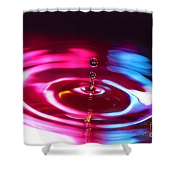 Physics Of Water 1 Shower Curtain