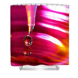 Physics Of Water 3 Shower Curtain