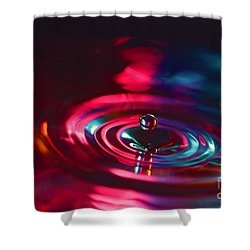 Physics Of Water 4 Shower Curtain