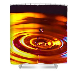 Physics Of Water 5 Shower Curtain
