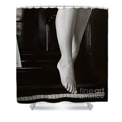Piano #021389 Shower Curtain