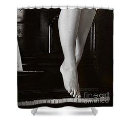Piano #021389 Shower Curtain by Andrey Godyaykin