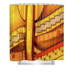 Piano 1 Shower Curtain by Rebecca Cozart