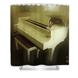 Piano Dream Shower Curtain