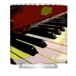 Piano Keys Shower Curtain