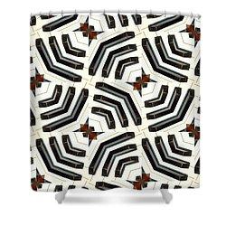 Piano Keys II Shower Curtain by Maria Watt
