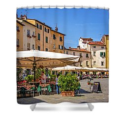Piazza Anfiteatro Shower Curtain